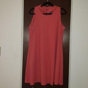 Coral Dress 🌸🌺🌷